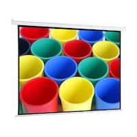 Pyle PRJELMT76 72-inch Motorized Projector Screen