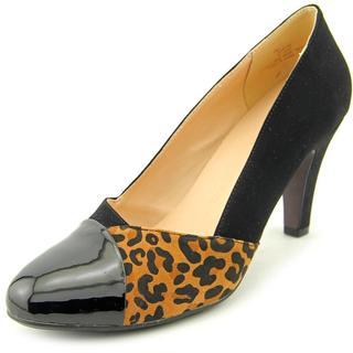 Beacon Women's Selena Black Polyurethane Dress Shoes