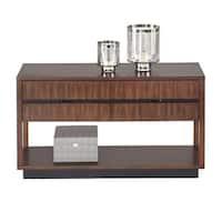 Progressive Sofisticate Brown Veneer Sofa Console Table