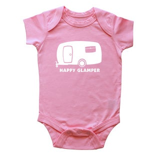 "Rocket Bug ""Happy Glamper"" Baby Bodysuit"