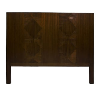 Hilio Mahogany-finish Wood King-size Headboard