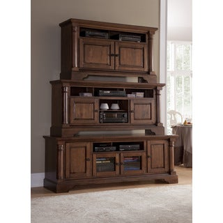 Gramercy Park Bronze Pine Entertainment Console