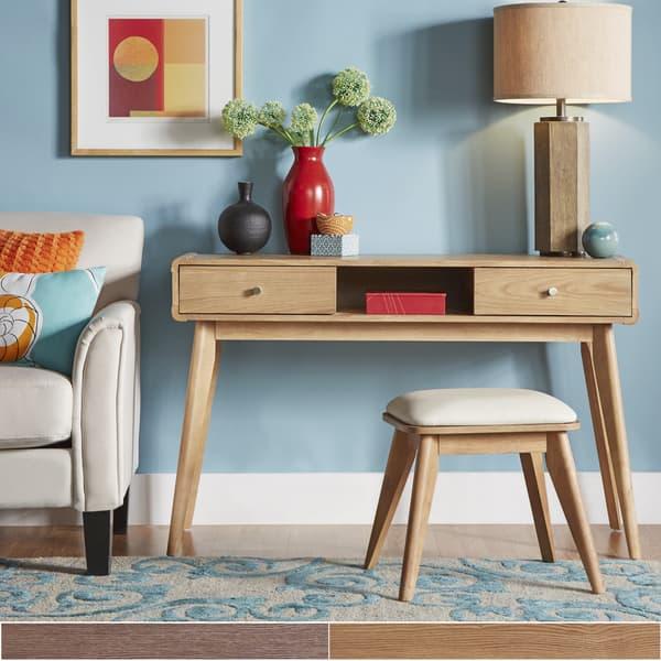 Shop Penelope Danish Modern Vanity Console Table Inspire Q Modern