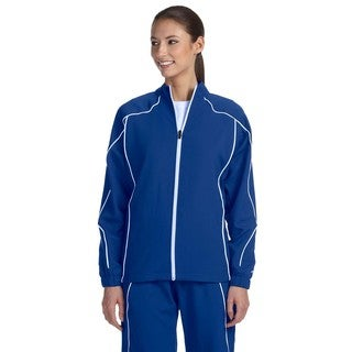 Team Prestige Women's Royal/White Polyester Full-zip Jacket