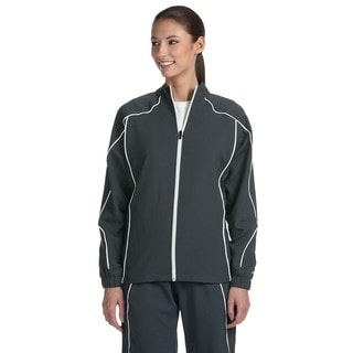 Team Prestige Women's Stealth/White Full-zip Jacket