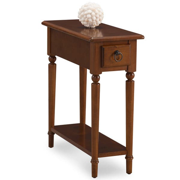 Coastal Charside Wood Accent Table Free Shipping