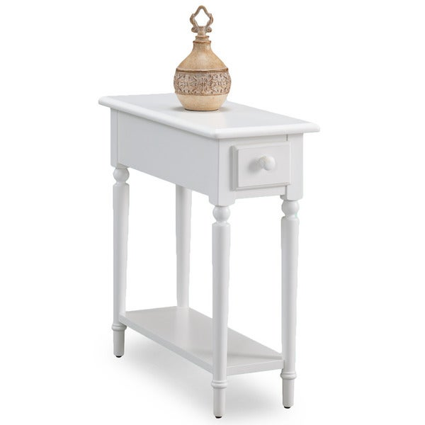 Shop Coastal White Wood Accent Table
