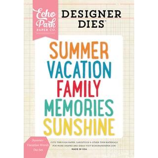 Echo Park Dies Summer Vacation Words