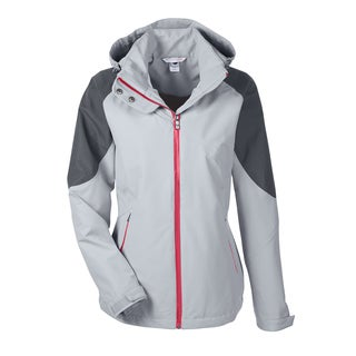 Impulse Women's Grey Polyester Seam-sealed Shell Jacket
