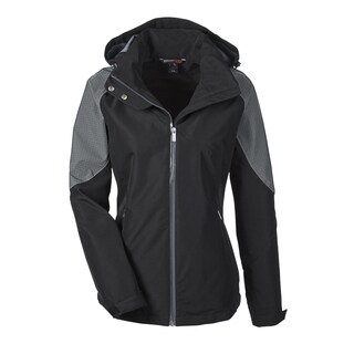 Impulse Women's Black Polyester Carbon 703 Interactive Seam-Sealed Shell Jacket (More options available)