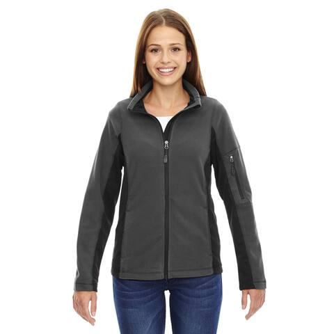 Generate Women's Carbon Textured Fleece Jacket
