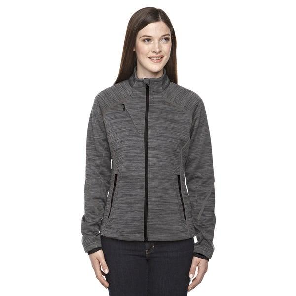 Flux Melange Women's Carbon Fleece Bonded Jacket