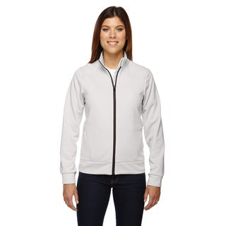 Evoke Women's 695 Crystal Quartz Polyester Bonded Fleece Jacket