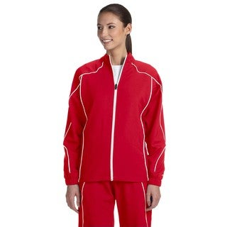 Team Prestige Women's True Red/White Full-zip Jacket