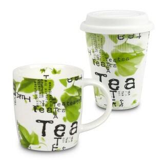 Konitz Waechtersbach Tea Collage Mugs (Set of 2)