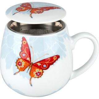 Waechtersbach Tea for One Bijou Butterfly 3-piece Tea Mug