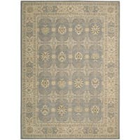 Nourison Persian Empire Slate Area Rug - 7'9 x 9'9