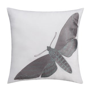 Seedling by Thomas Paul Curiosities Moth 18-inch Decorative Pillow