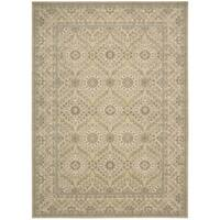 Nourison Persian Empire Light Gold Area Rug (7'9 x 9'9)