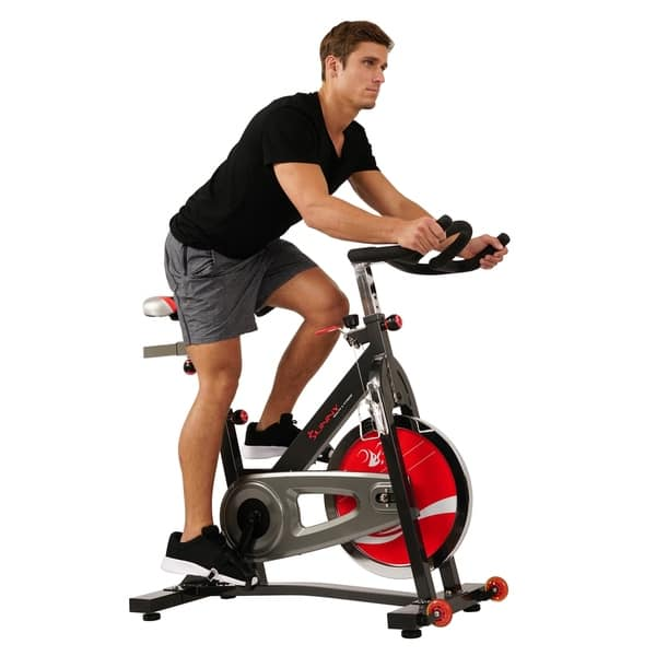 5c918c11ad5 Shop Sunny Health & Fitness SF-B1401 Black Indoor Cycling Bike ...