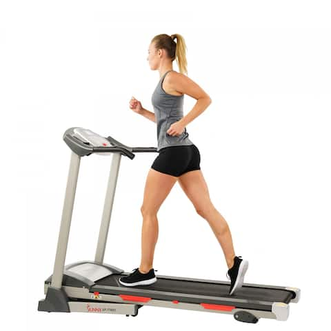 Sunny Health Fitness SF-T7603 Black Motorized Treadmill