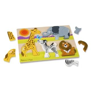 Melissa & Doug Chunky Jigsaw Jumbo Safari