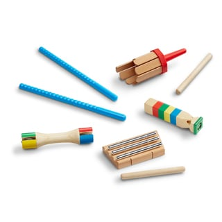 Melissa & Doug Band-in-a-Box Chime! Whistle! Jingle!