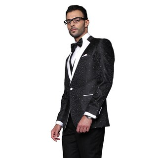 Link to Bellagio Statement Black Wool Tuxedo Similar Items in Suits & Suit Separates