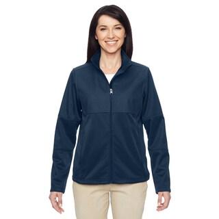 Task Women's Dark Navy Fleece Full-zip Jacket