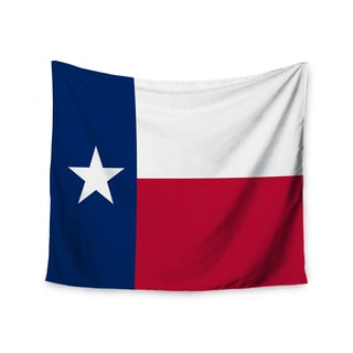 Kess InHouse Bruce Stanfield 'Texas Flag' 51x60-inch Wall Tapestry