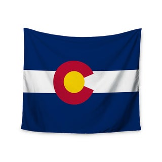 Kess InHouse Bruce Stanfield 'Colorado State Flag' 51x60-inch Wall Tapestry