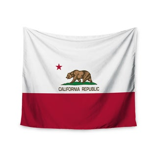 Kess InHouse Bruce Stanfield 'California State Flag' 51x60-inch Wall Tapestry