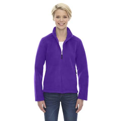 Journey Women's Campus Purple Fleece Jacket