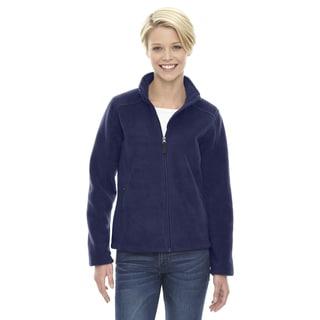 Journey Women's Navy Polyester Fleece Jacket