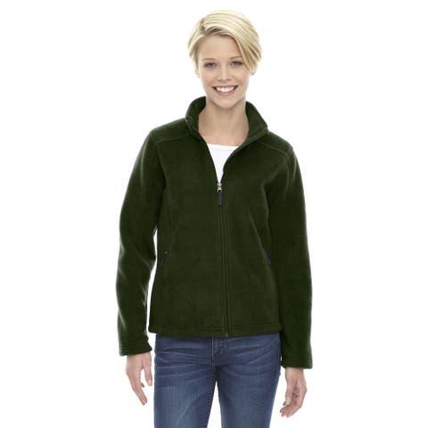 Journey Women's Forest Green Fleece Jacket