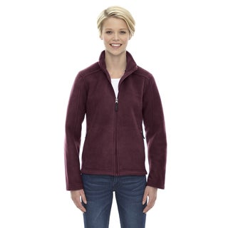 Journey Women's Burgundy Fleece Jacket