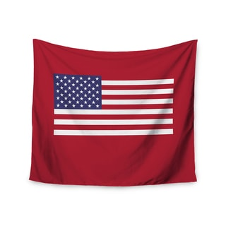 """Kess InHouse Bruce Stanfield """"Flag of USA"""" Contemporary Digital Wall Tapestry 51'' x 60''"""