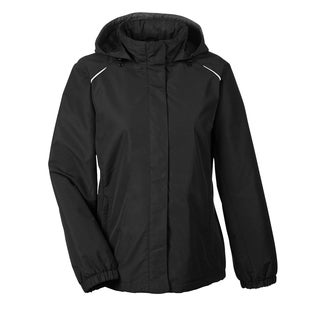 Profile Women's Black 703 Fleece-lined All-season Jacket