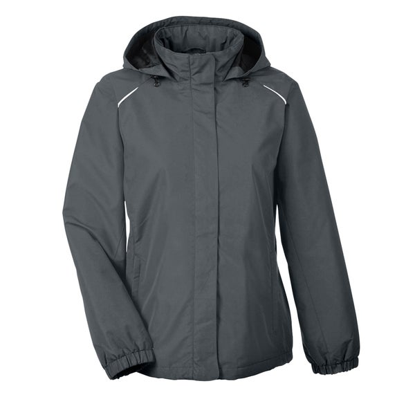 Profile women 39 s 456 carbon polyester fleece lined all for Polyester lined flannel shirts