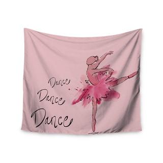 Kess InHouse Brienne Jepkema 'Ballerina' 51x60-inch Wall Tapestry