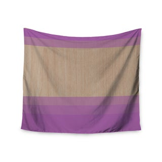 Kess InHouse Brittany Guarino 'Art Purple' 51x60-inch Wall Tapestry