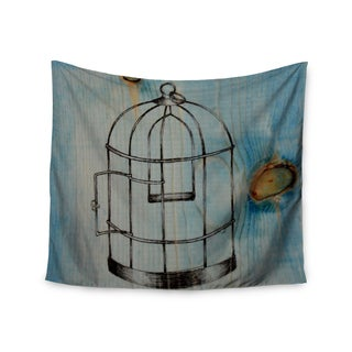 "Kess InHouse Brittany Guarino ""Bird Cage"" Wall Tapestry 51'' x 60''"
