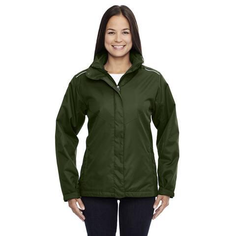 Region Women's Forest Green 3-in-1 Jacket with Fleece Liner