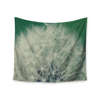 "Kess InHouse Angie Turner ""Fuzzy Wishes"" Green White Wall Tapestry 51'' x 60''"