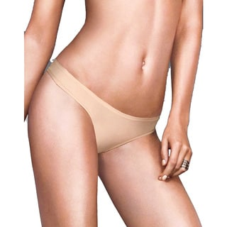 Maidenform Women's Latte Nude Nylon/Spandex/Cotton One-size Lift Thong