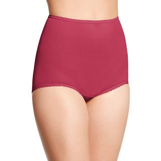 Bali Women's Skimp Skamp Red Cotton, Nylon, Spandex Brief