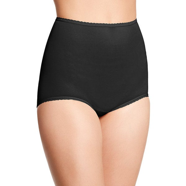 Bali Women's Skimp Skamp Black Brief-style Panty