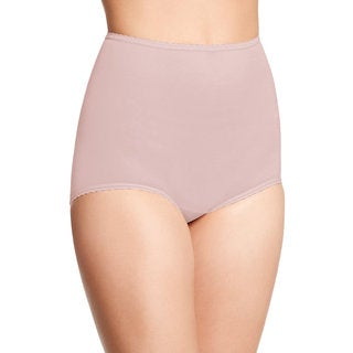 Bali Women's Skimp Skamp Pink Cotton, Nylon, Spandex Brief Panty