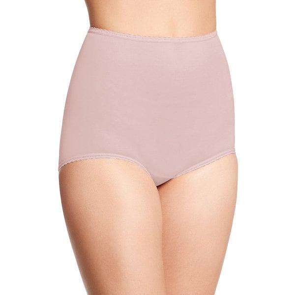 Bali Women's Skimp Skamp Pink Cotton, Nylon, Spandex Brief Panty