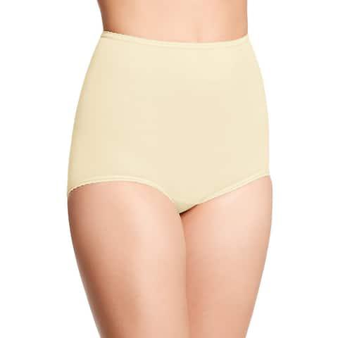 Bali Women's Skimp Skamp Moonlight Nude Nylon/Spandex/Cotton Brief Panty